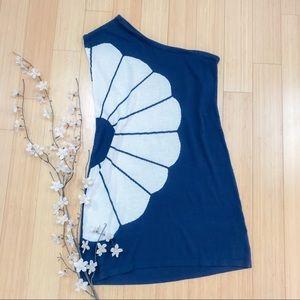 TIBI New York flower Intarsia sweater dress, S.